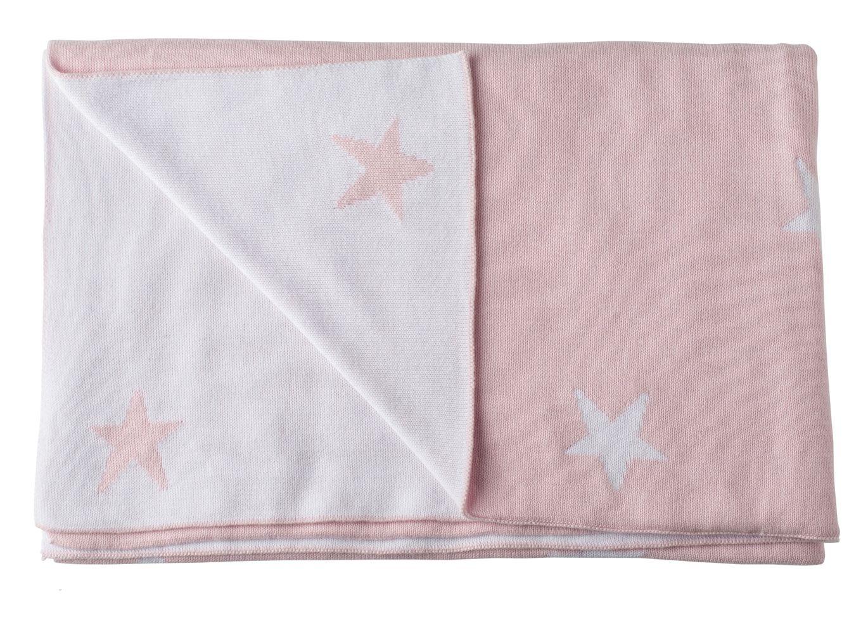 Basic Star Babyfilt Bliss Sthlm Rosa Bonti