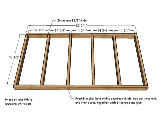 Easy diy hanging daybed daybed construction and hgtv for Hanging bed construction