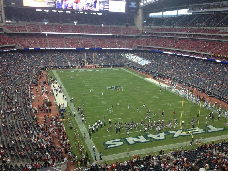 Nrg Stadium Interactive Seating Chart Nrg Stadium Season Ticket Houston Texans Football