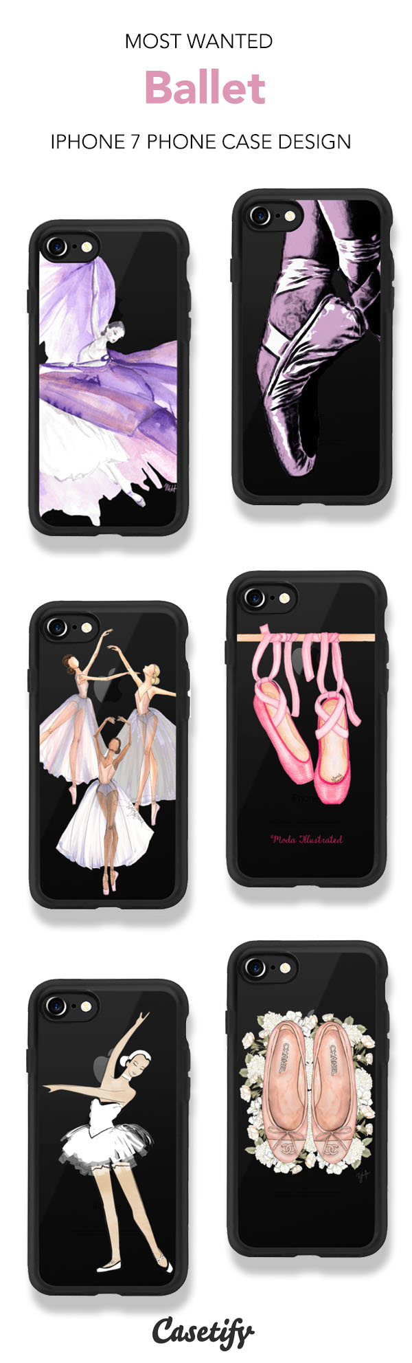 Most Wanted Ballet iPhone 7 and iPhone 7 Plus case. Shop these ...
