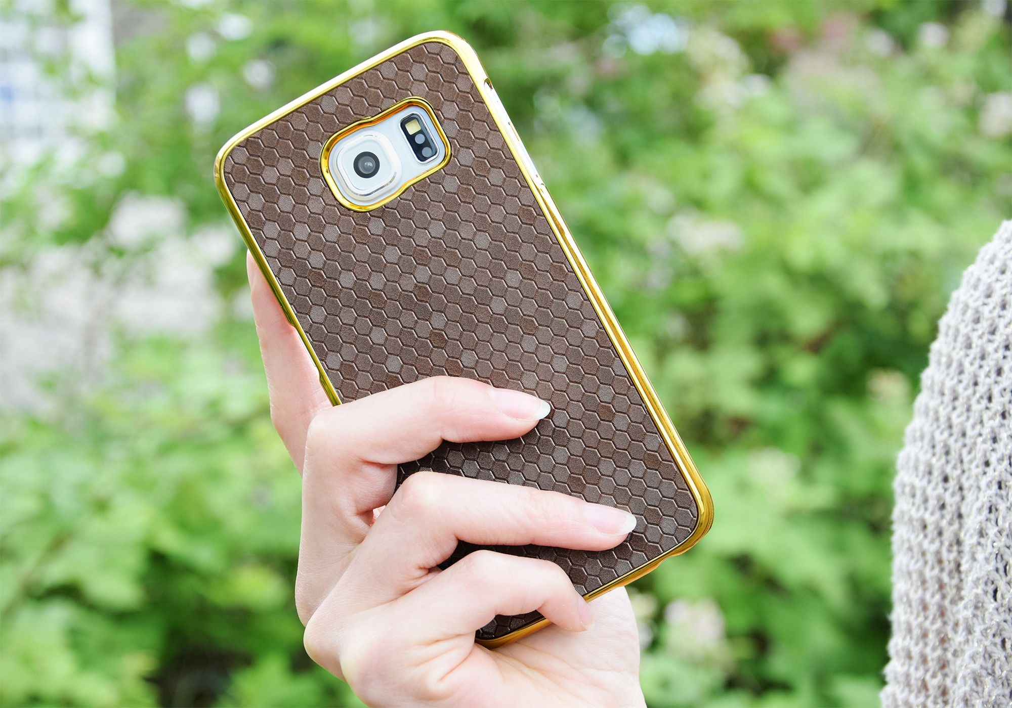 """PhoneNatic """"Hexagon"""" Schutzhüllen (case) für das Samsung Galaxy S6 / S6 Edge, iPhone 6 und weitere von PhoneNatic.de"""