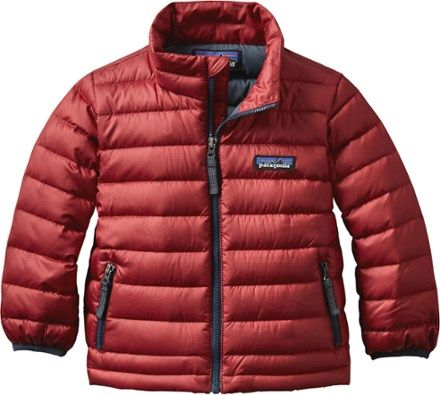 Patagonia Boys Down Sweater Jacket Toddler Boys Classic Red 3t