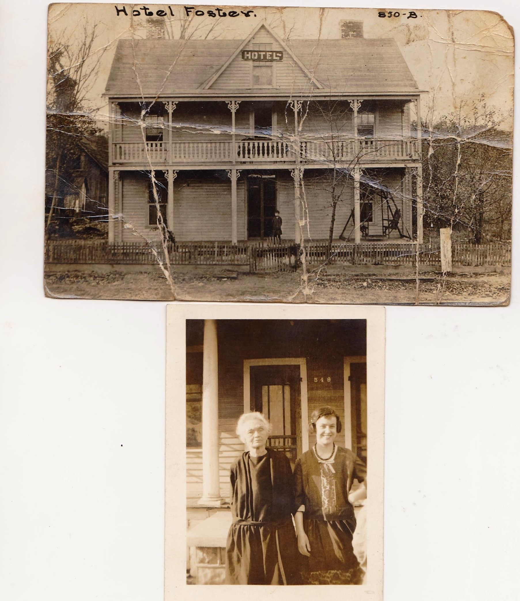 The Hotel Foster In Harriman Tn My Great Grandmother Mrs Owned