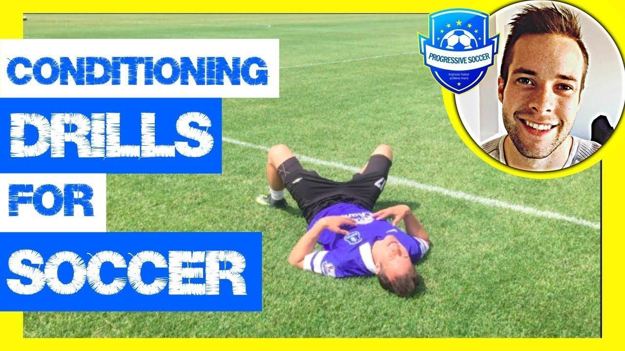 Soccer Conditioning Drills & Workouts (*Football Fitness Training without ball f...-#ball #condition...