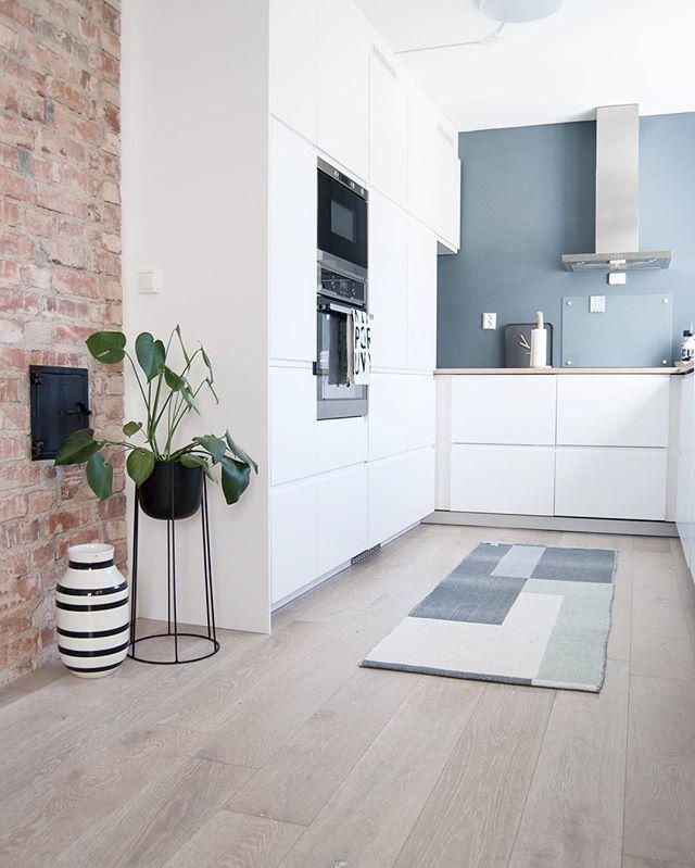 Küche, Farbe, Wand | Wände highlighten | Pinterest | Küche farbe ...