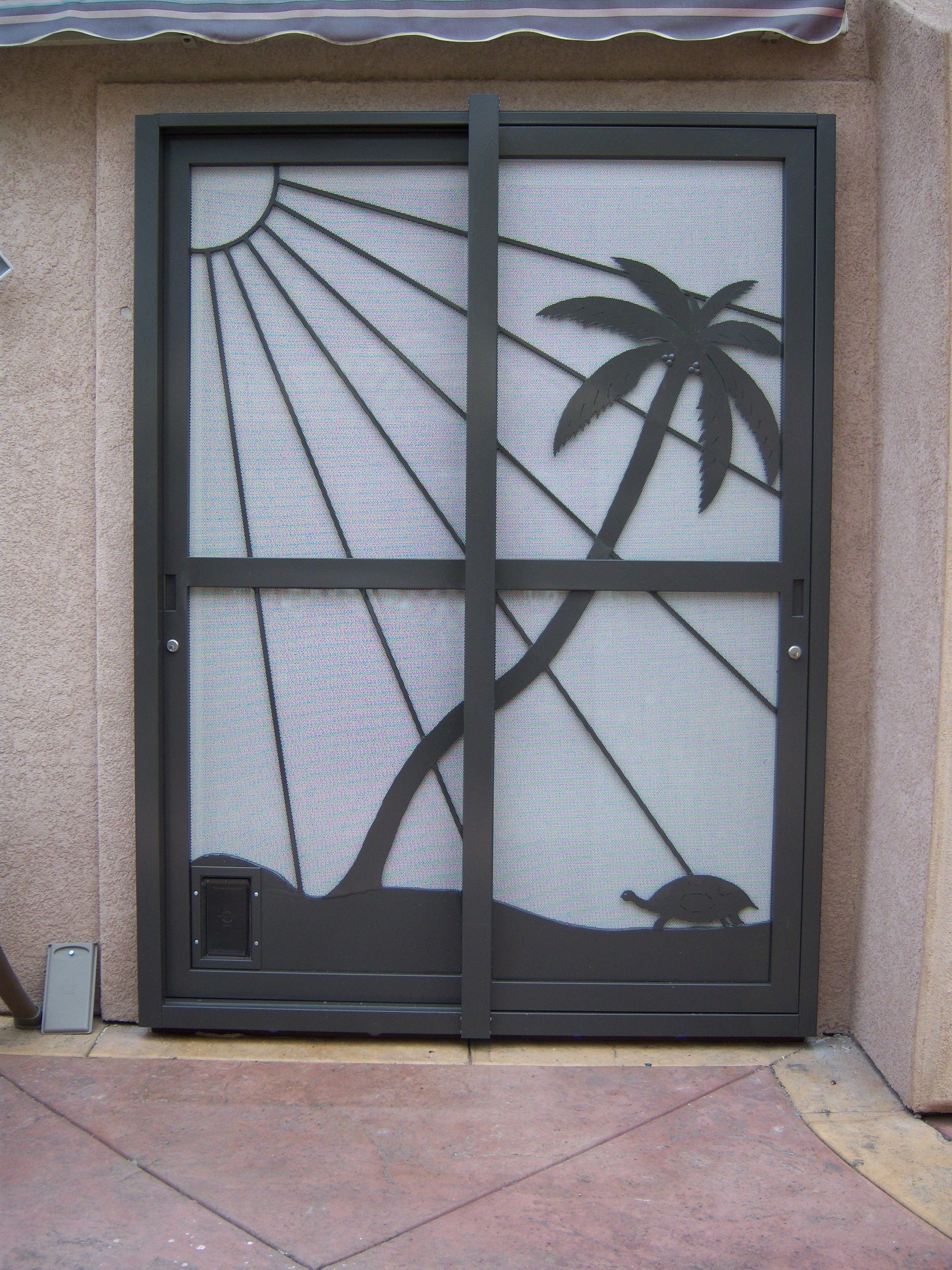 Security Gate For Patio Sliding Doors