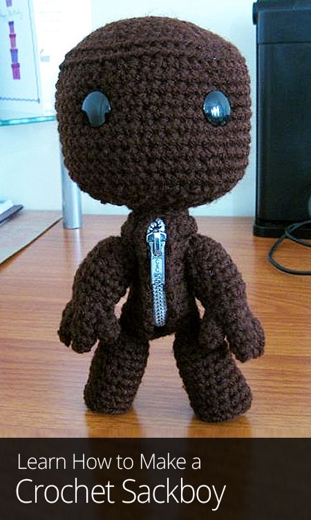 Are you a fan of littlebigplanet then this crochet pattern is for then this crochet pattern is for you learn dt1010fo