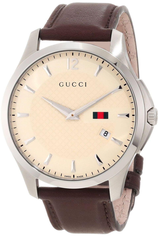 0aecaa70d Gucci Watch , Gucci Men's YA126303 Gucci Timeless Ivory Diamond Pattern  Dial Watch...$895.00