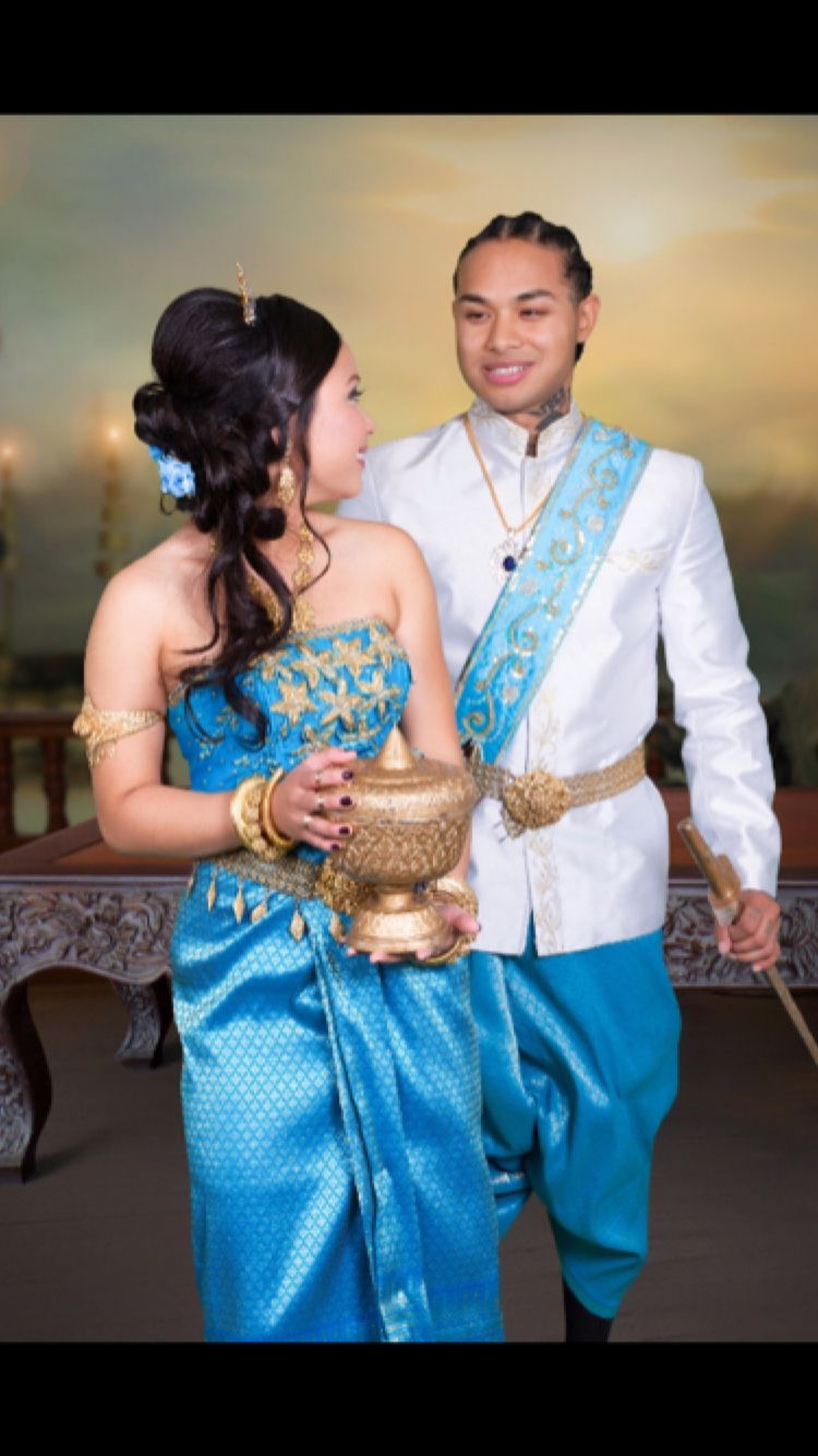 Khmer costume | Cambodian Outfits for Wedding | Pinterest | Wedding