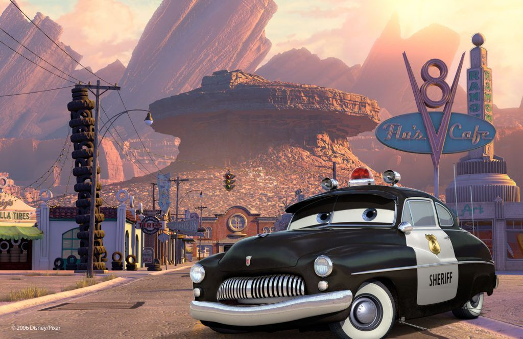 Disney pixar cars wall mural wallpapers cartoon for Disney pixar cars mural wallpaper