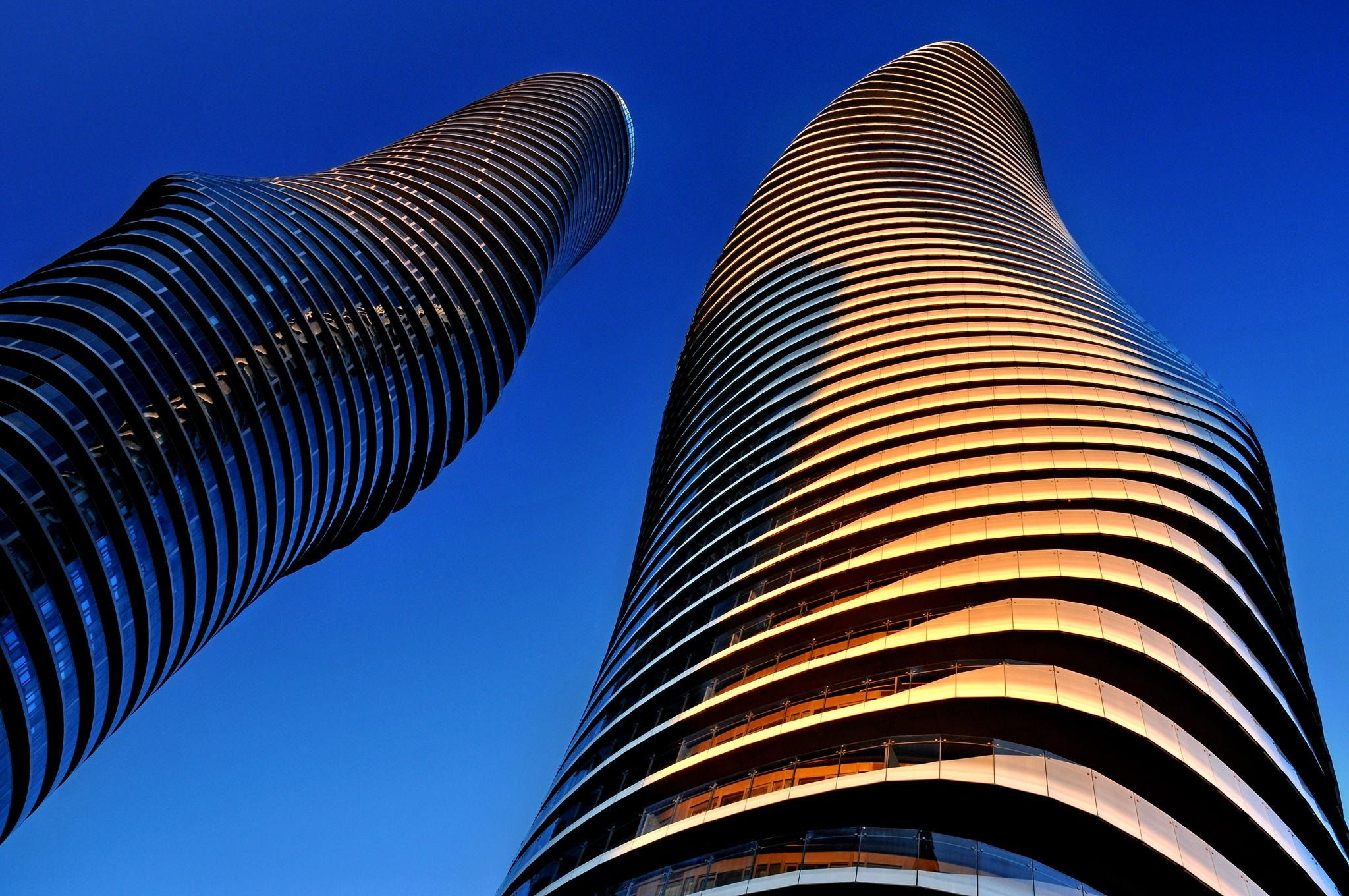 Marylin Monroeu0027s Curves   These Stunning, Voluptuous Towers Are Part Of The  Five Building Great Ideas