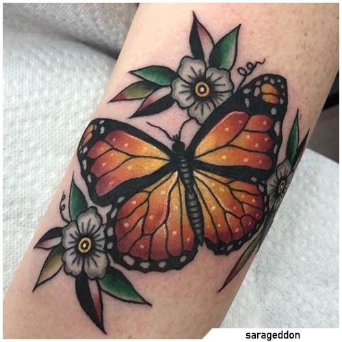 Significato Tatuaggio Farfalla - Più di 60 idee tattoo con le farfalle