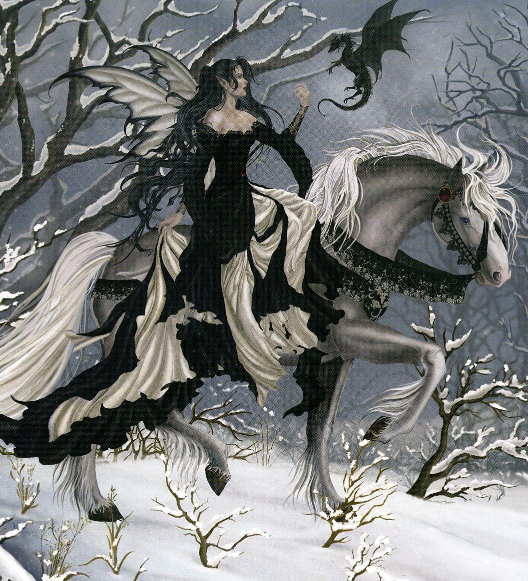 A Chance Encounter Nene Thomas Fairy Art