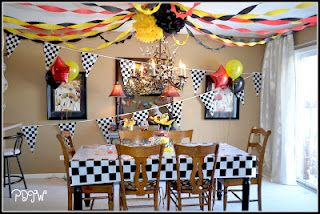 Birthday Party Cars 2 Theme party ideas for kids Pinterest