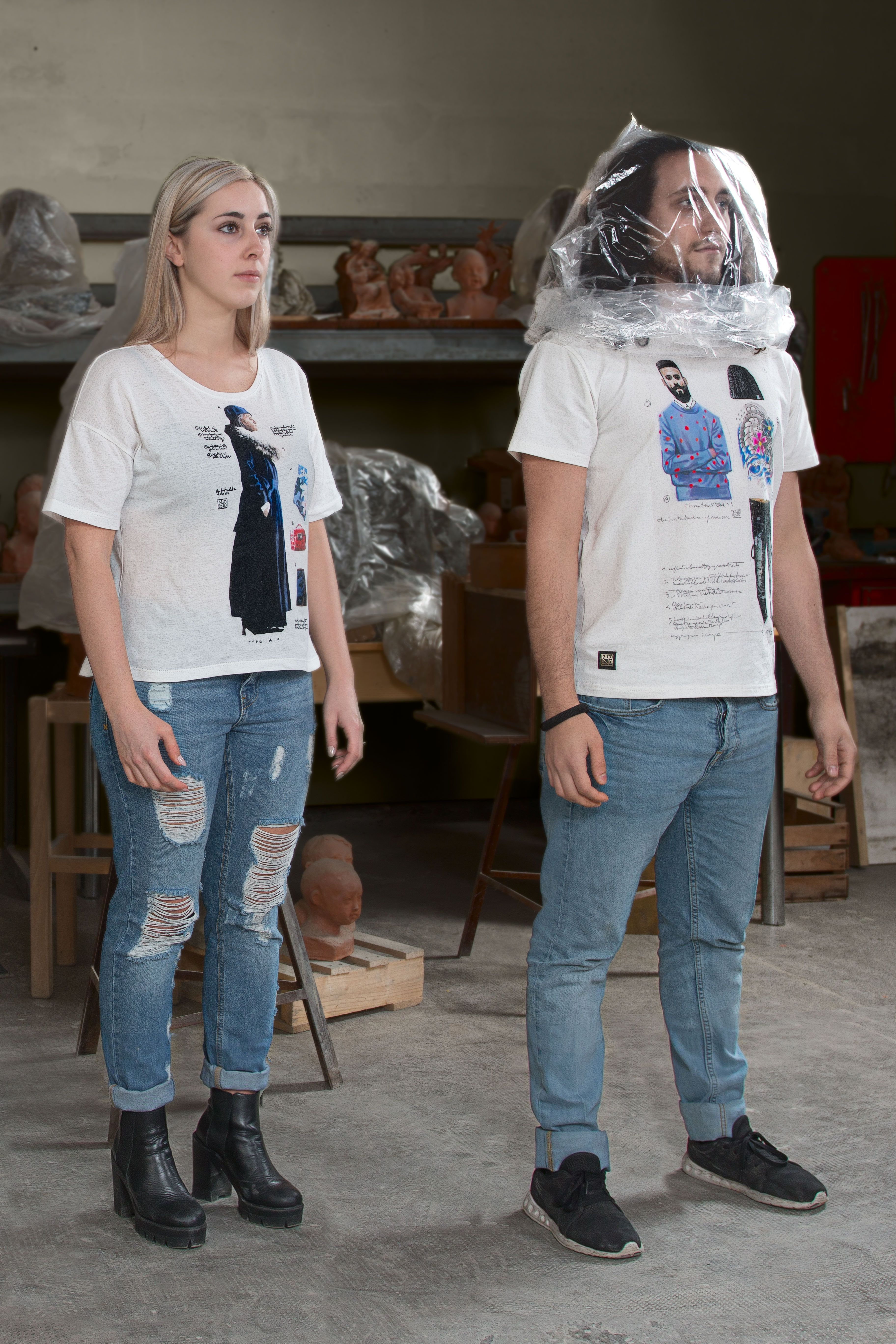 T Shirt #nuovoevo #nuovoevotypes #types #conceptstore #conceptpeople #moda #fashionart #italianproducts