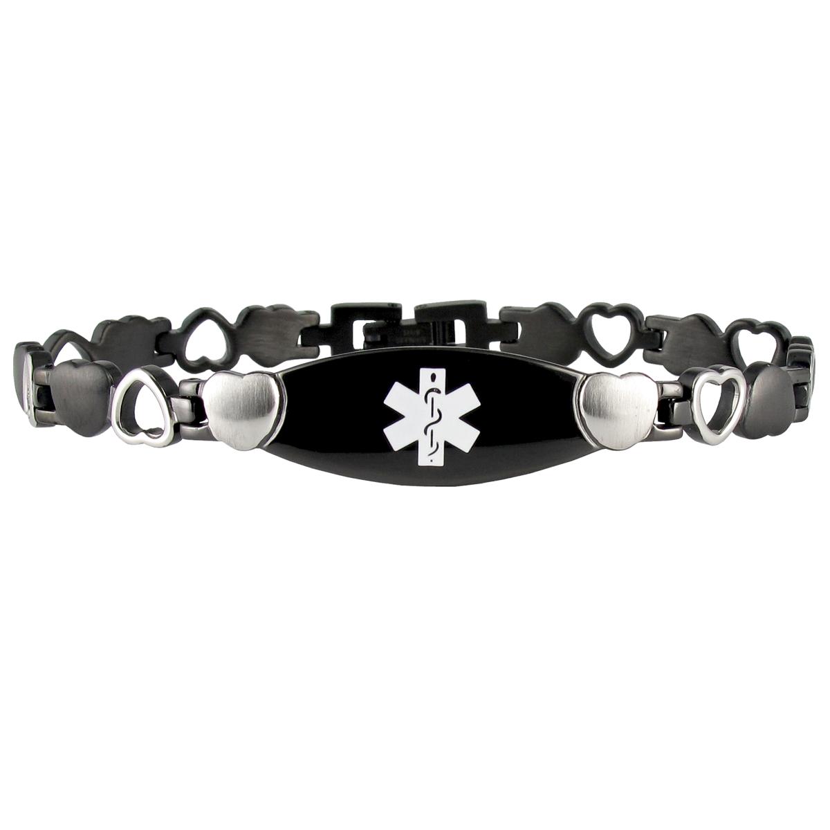 Eternity Bracelet Medical Bracelet Alert Bracelet Medical Id Bracelets
