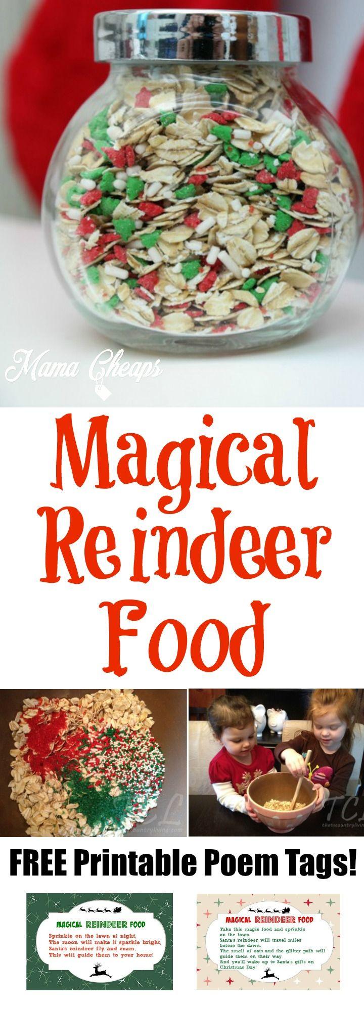 Magical reindeer food recipe free printable poem tag httpbit magical reindeer food recipe free printable poem tag httpbit forumfinder Choice Image