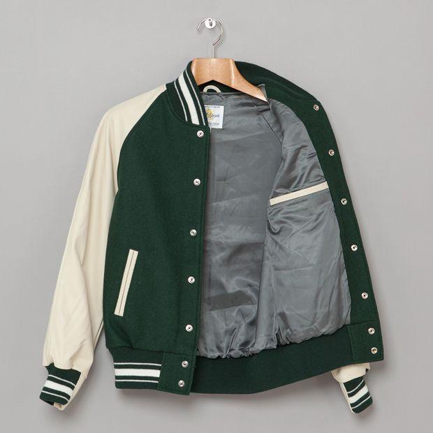 Golden Bear Raglan Wool Varsity Jacket 03