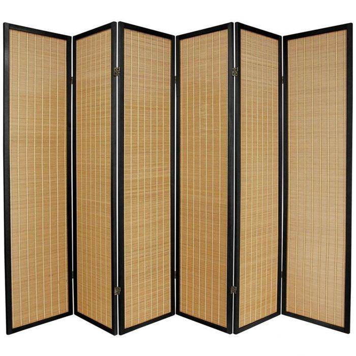 Raumteiler Ideen Faltwand Raumteiler Paravent Raumtrenner Aus Bambus