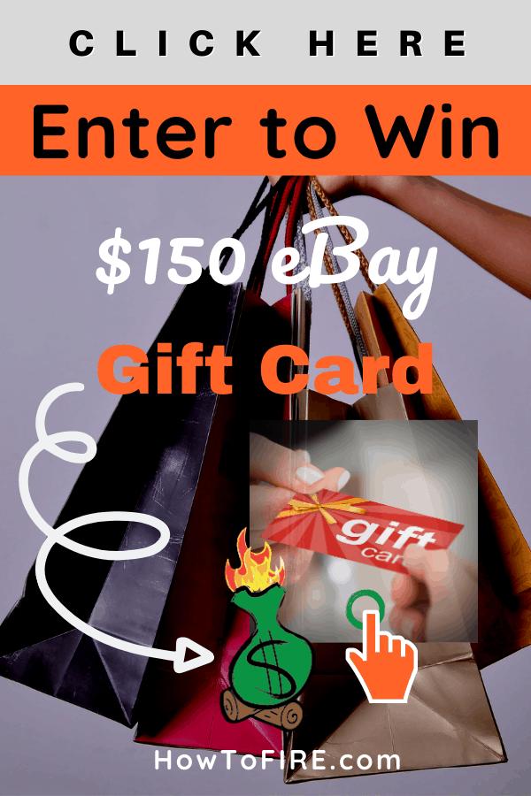 Win a $150 eBay Gift Card!