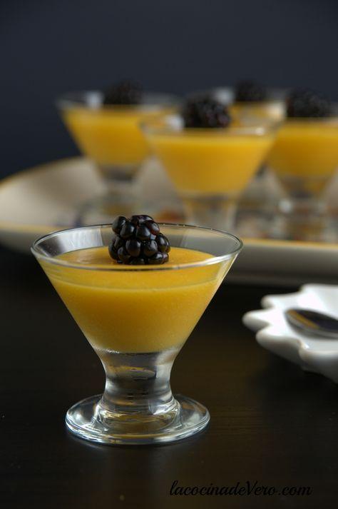 Gelatinas de mango #receta #postre