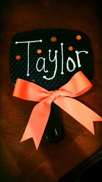 Homemade Cheer Gifts (personalized mirrors)