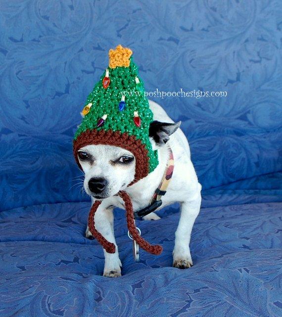 dog snood Snowman dog gift idea dog accessory Dog hat dog Christmas gift crochet dog hat snood