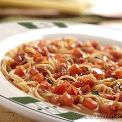 Secret Copycat Restaurant Recipes Olive Garden Capellini Pomodoro Recipe Foods I Think My