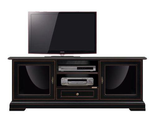 Mobile porta tv nero, mobile design nero, mobile in legno ciliegio ...