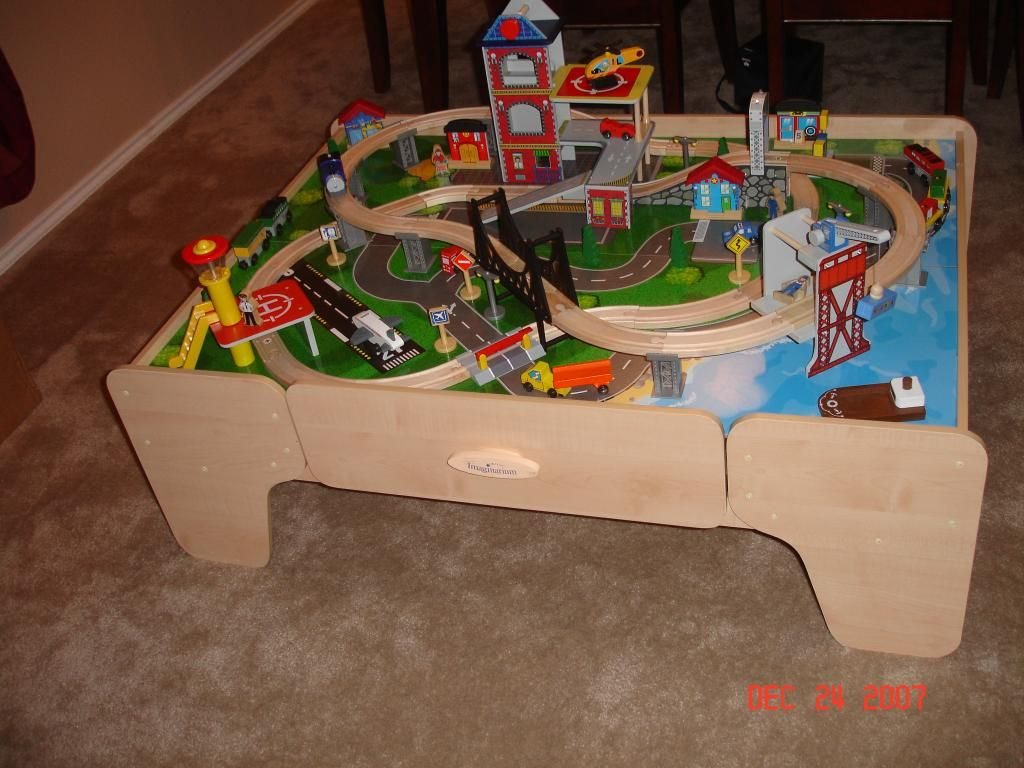 train table ideas I have this table already but it needs to be repainted & train table ideas I have this table already but it needs to be ...