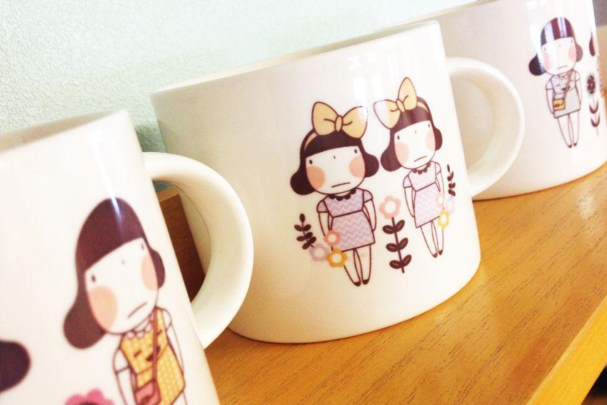 Miss Smile Mug www.misssmile.co.kr 미스스마일이 사랑스러운 머그컵 3종류.