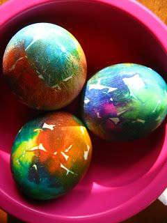 Something from Scratch: Stained Eggs