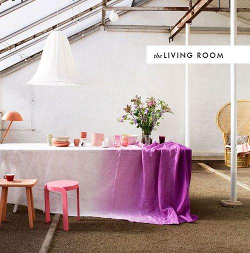 diy room to room watercolor crafts diys pinterest ombre