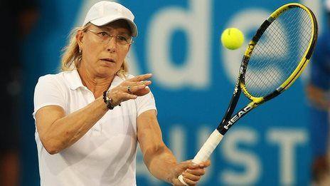 Navratilova to coach Radwanska  --- wow!