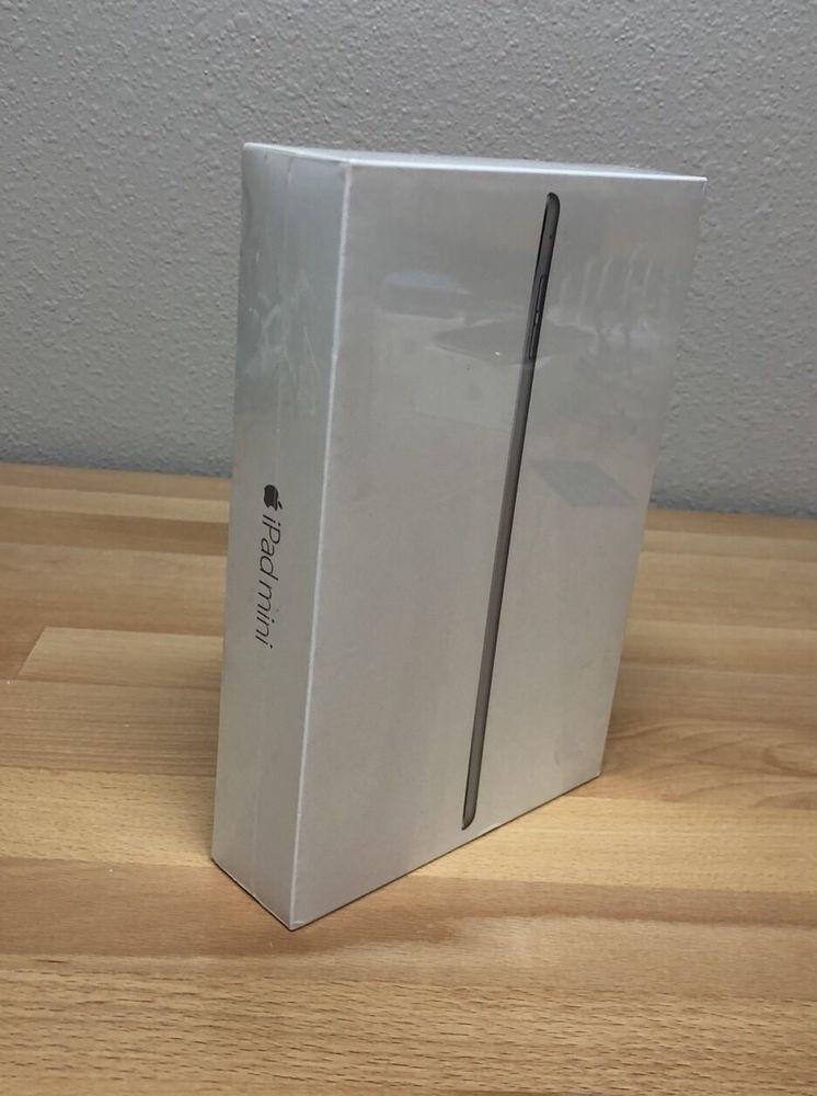 Sealed Apple Ipad Mini 4 128gb Wi Fi 7 9in Space Gray Brand New Apple Apple Ipad Mini Ipad Mini Ipad