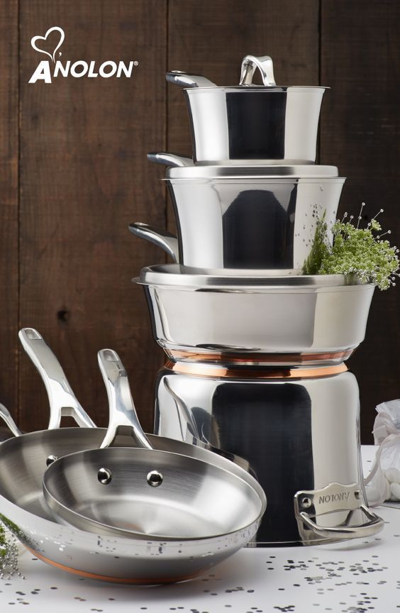 how to clean anolon cookware