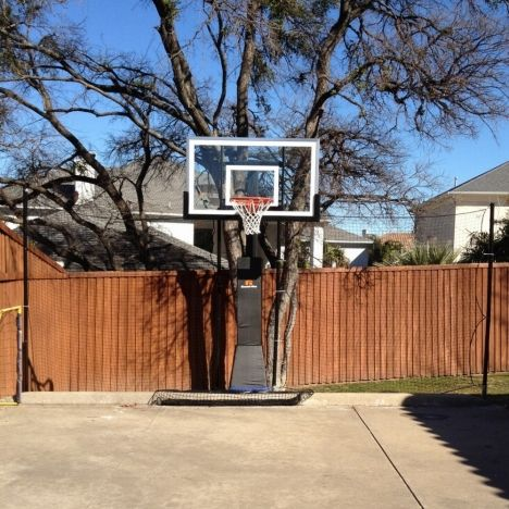 Custom Basketball Barrier And Backstop Nets Basketball Net Backyard Basketball Backyard