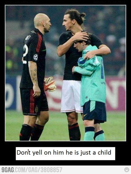 Ibrahimovic The Daddy Funny Soccer Memes Soccer Funny Soccer Memes
