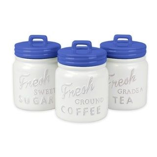 DII Ceramic Jar Canister (Cookie Jar & Coffee Canister ...