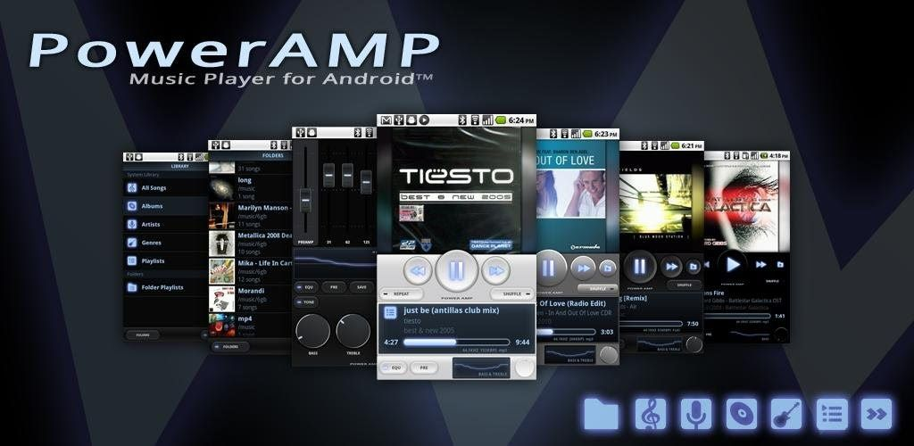 Poweramp is a powerful music player for Android  Key
