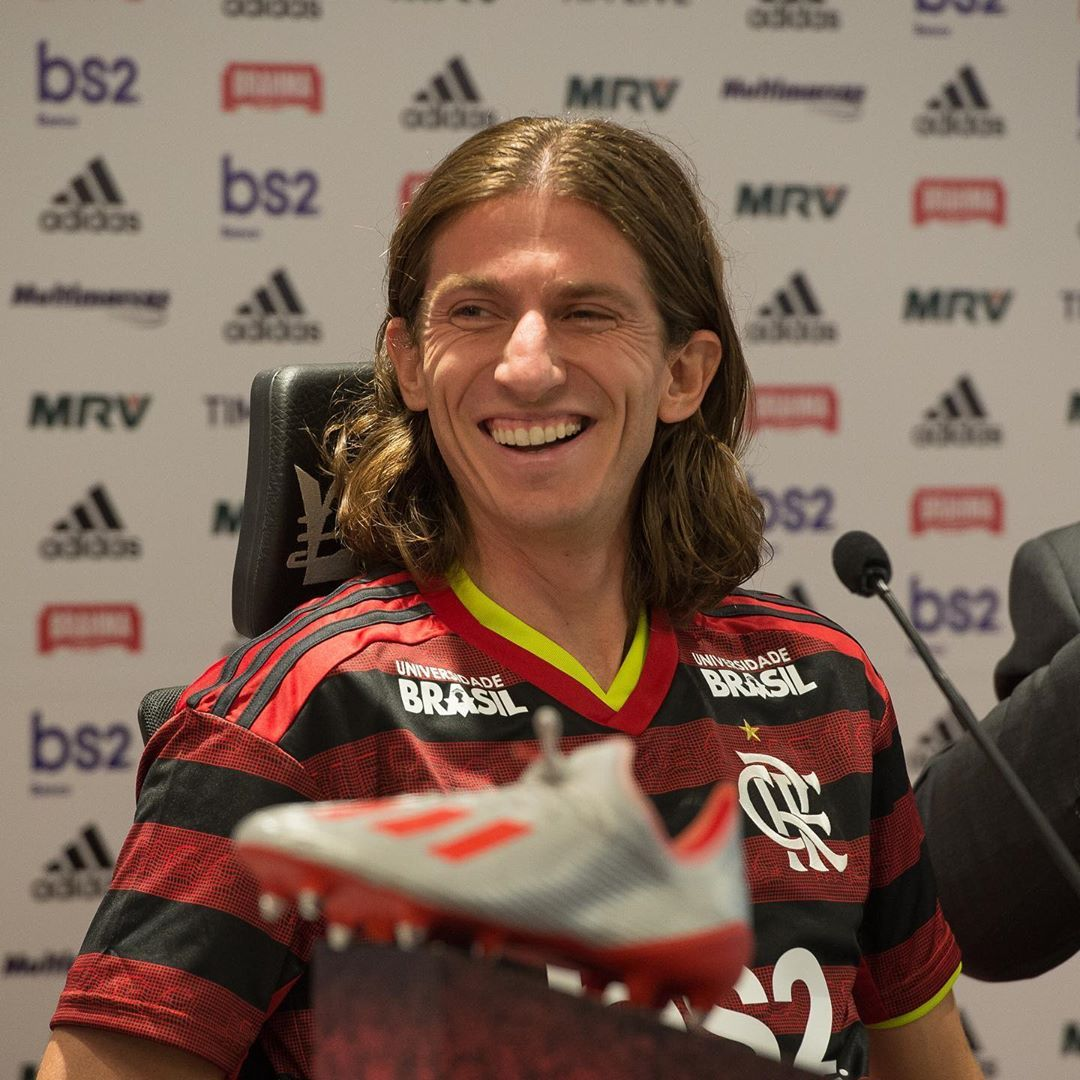 """Flamengo no Instagram """"Apresentação oficial de"""
