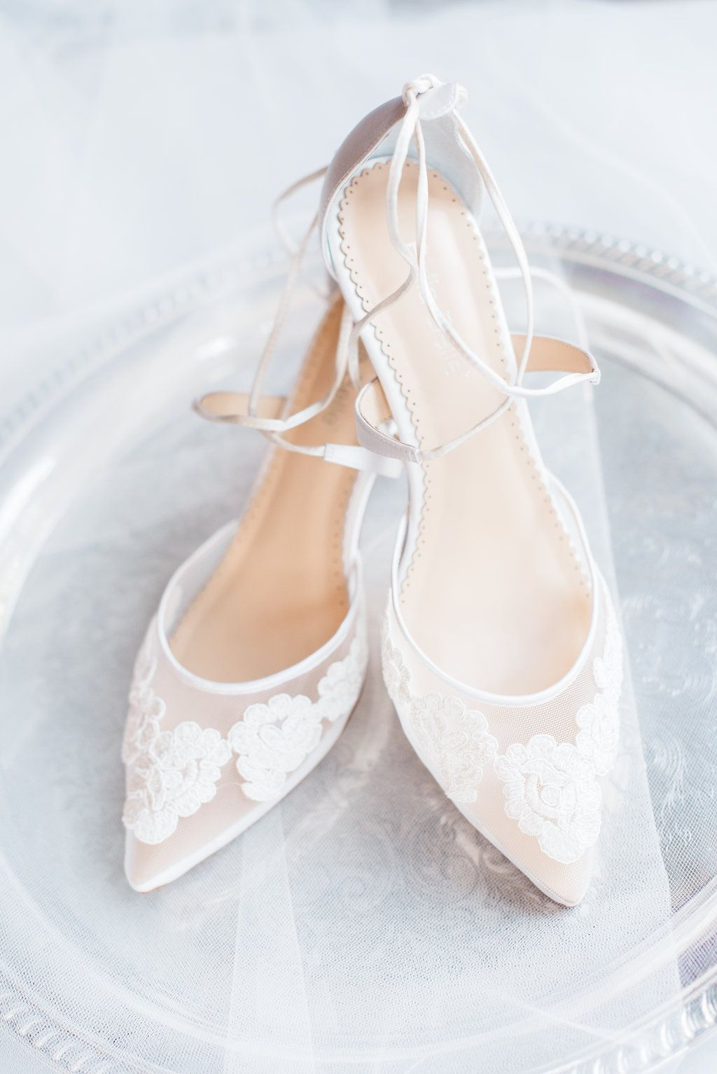 280c5b2c8 We love our Amelia lace kitten heel low heel ivory wedding shoe on our  #realbride