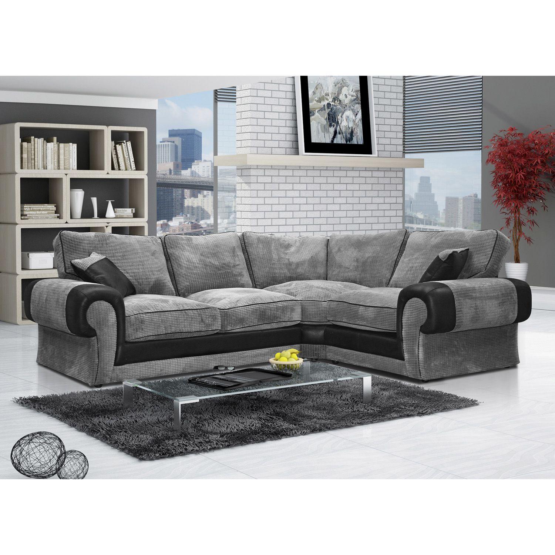 Illusion Left Arm Facing Open End Pillow Back Corner Sofa