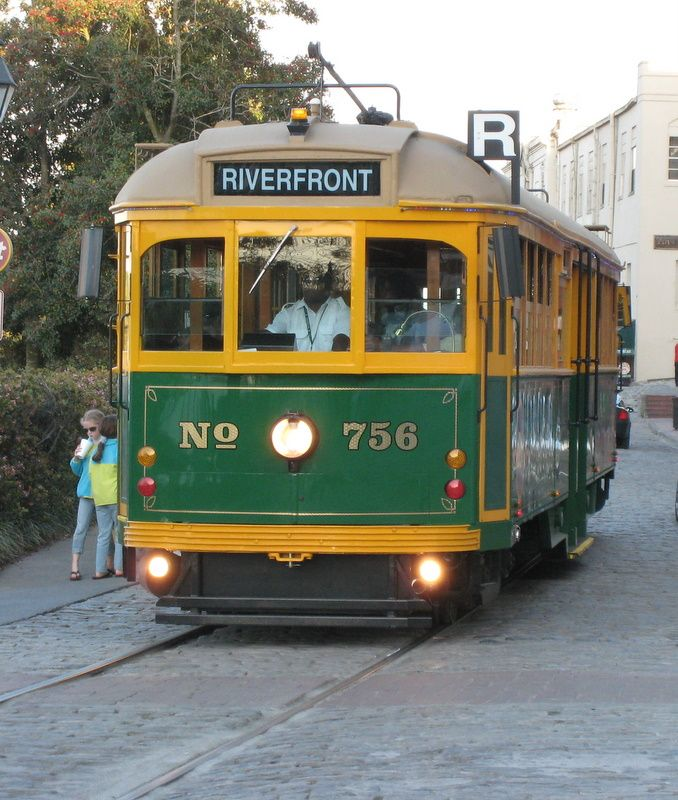 Trolley Rides On The Savannah Riverfront Are A Must