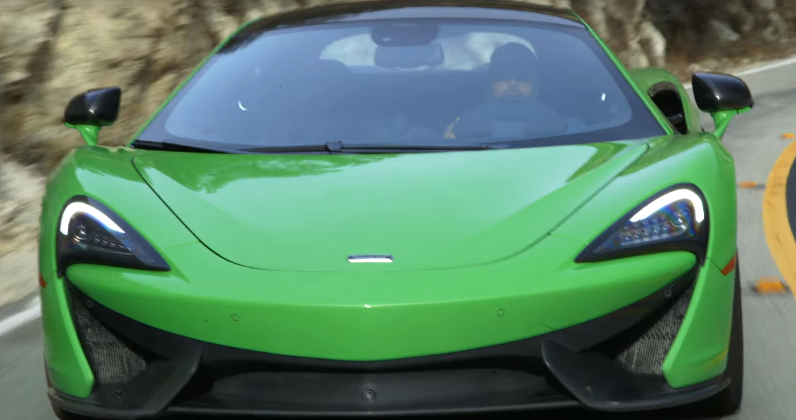 McLaren 570S On Track And Tearing Up Some Twisty Mountain Roads. #cars #supercars #McLaren #570S #videos