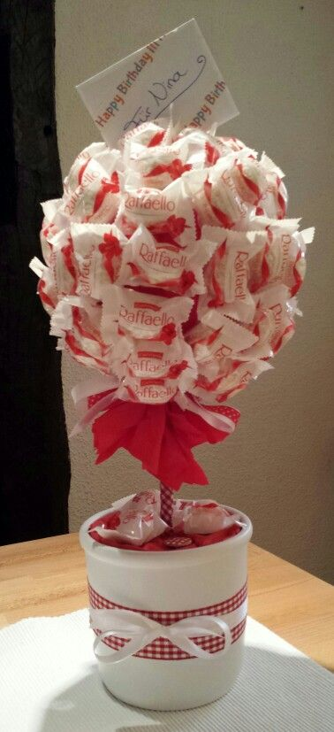 mein erster candy raffaello tree projects to try. Black Bedroom Furniture Sets. Home Design Ideas