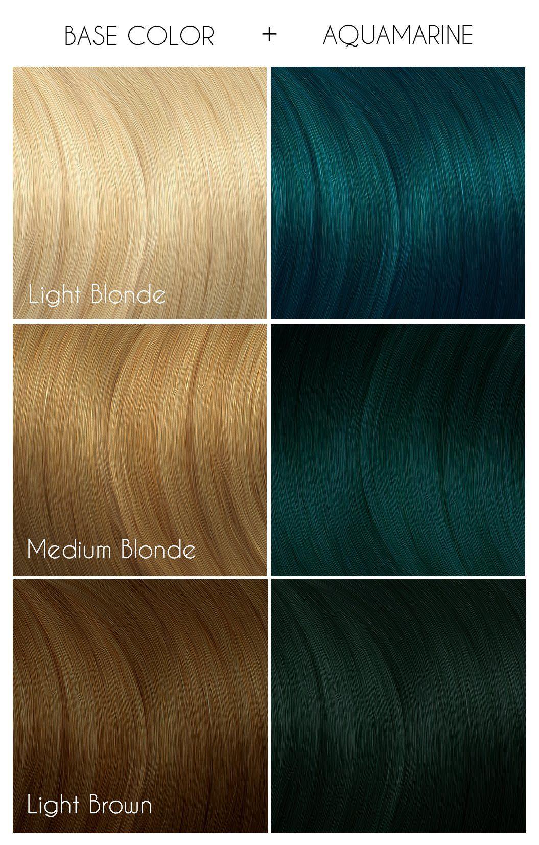 Aquamarine In 2020 Arctic Fox Hair Dye Arctic Fox Hair Color