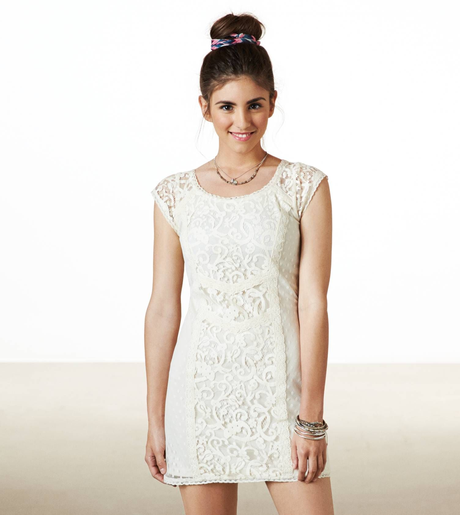 Lace Shift Dress From Ae White Lace Shift Dress Lace Shift Dress Shift Dress [ 1684 x 1504 Pixel ]