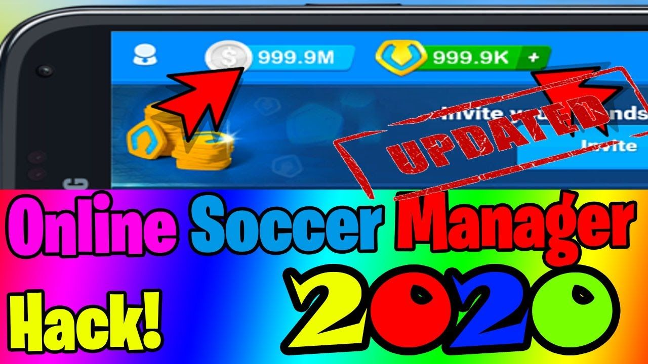 Updated Online Soccer Manager Hack Unlimited Tokens Osm Coins For In 2020 Online Token Management