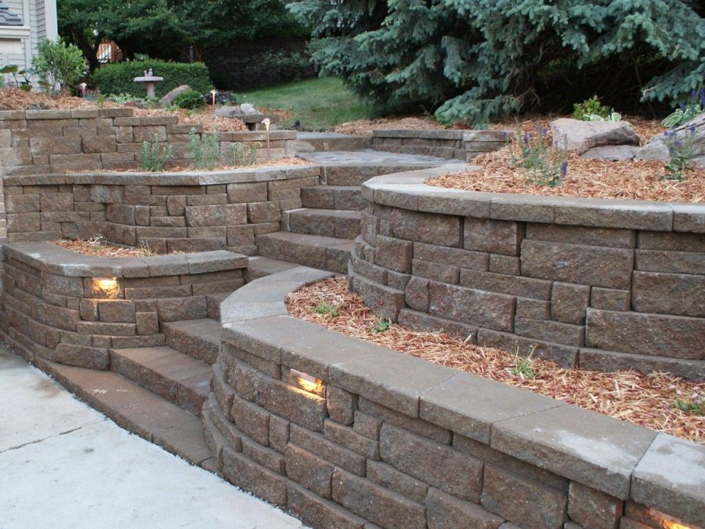 Retaining Wall Ideas That Will Appeal Your Yards